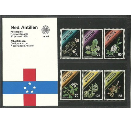 Znaczek Antyle Holenderskie 1990 Mi 676-681 Czyste **