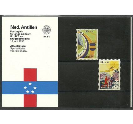 Znaczek Antyle Holenderskie 1990 Mi 688-689 Czyste **