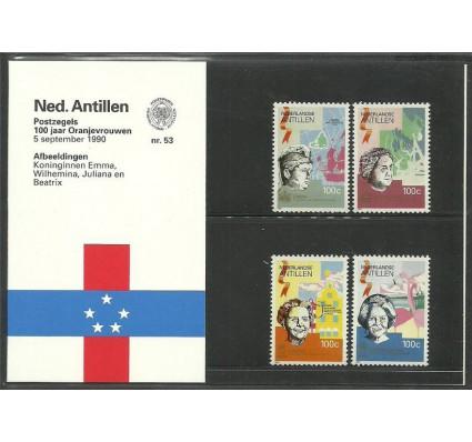 Znaczek Antyle Holenderskie 1990 Mi 694-697 Czyste **