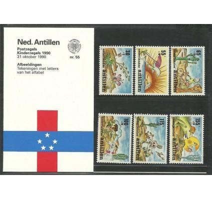 Znaczek Antyle Holenderskie 1990 Mi 700-705 Czyste **