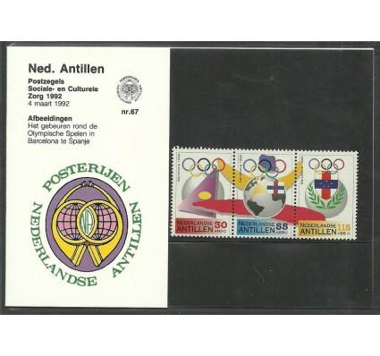 Znaczek Antyle Holenderskie 1992 Mi 745-747 Czyste **