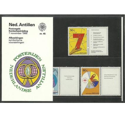 Znaczek Antyle Holenderskie 1989 Mi zf 668-670 Czyste **