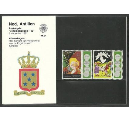 Znaczek Antyle Holenderskie 1991 Mi zf 734-735 Czyste **