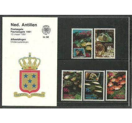 Znaczek Antyle Holenderskie 1991 Mi 709-713 Czyste **