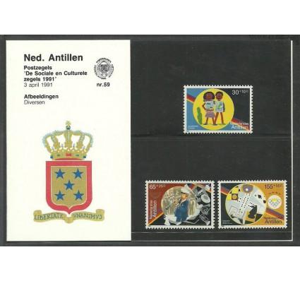 Znaczek Antyle Holenderskie 1991 Mi 714-716 Czyste **