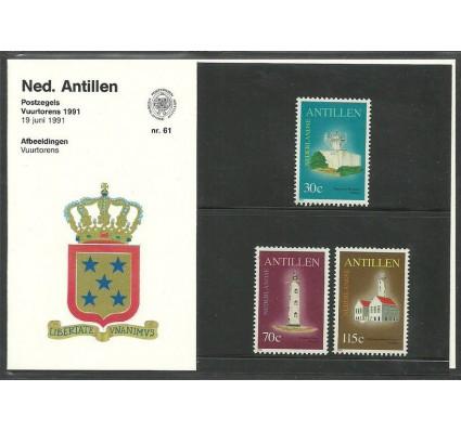 Znaczek Antyle Holenderskie 1991 Mi 723-725 Czyste **