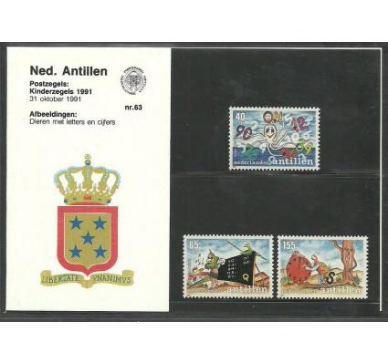Znaczek Antyle Holenderskie 1991 Mi 728-730 Czyste **