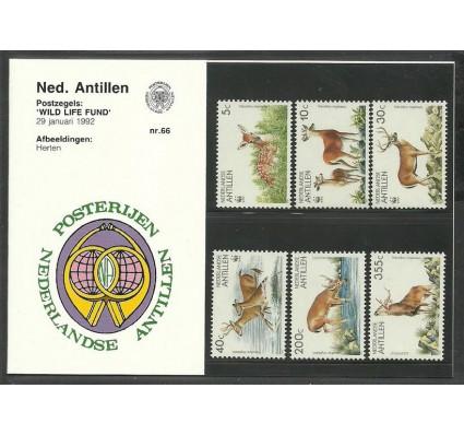 Znaczek Antyle Holenderskie 1992 Mi 739-744 Czyste **