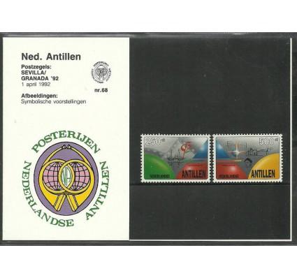 Znaczek Antyle Holenderskie 1992 Mi 748-749 Czyste **