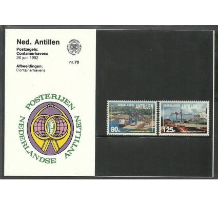 Znaczek Antyle Holenderskie 1992 Mi 752-753 Czyste **
