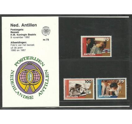 Znaczek Antyle Holenderskie 1992 Mi 763-765 Czyste **