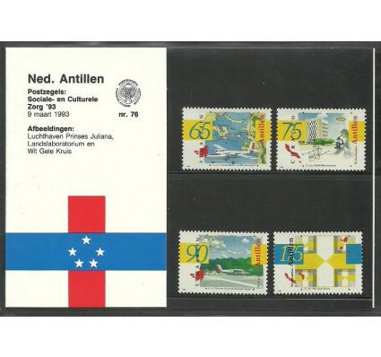 Znaczek Antyle Holenderskie 1993 Mi 772-775 Czyste **