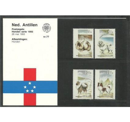 Znaczek Antyle Holenderskie 1993 Mi 776-779 Czyste **
