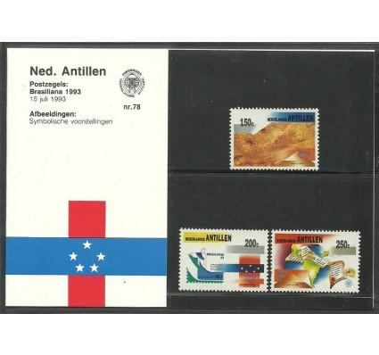 Znaczek Antyle Holenderskie 1993 Mi 780-782 Czyste **
