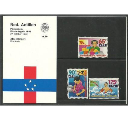 Znaczek Antyle Holenderskie 1993 Mi 785-787 Czyste **