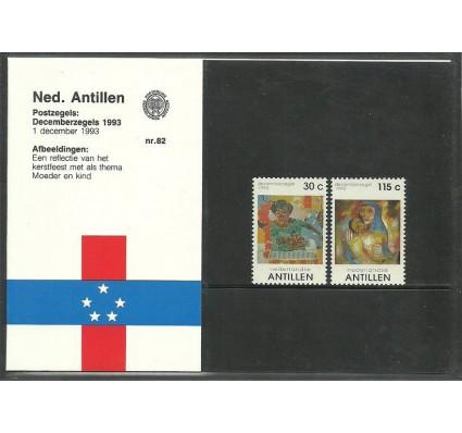 Znaczek Antyle Holenderskie 1993 Mi 792-793 Czyste **