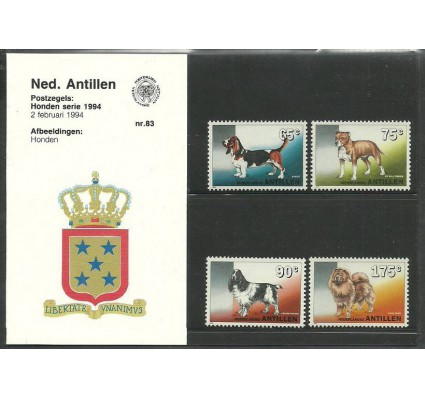 Znaczek Antyle Holenderskie 1994 Mi 794-797 Czyste **
