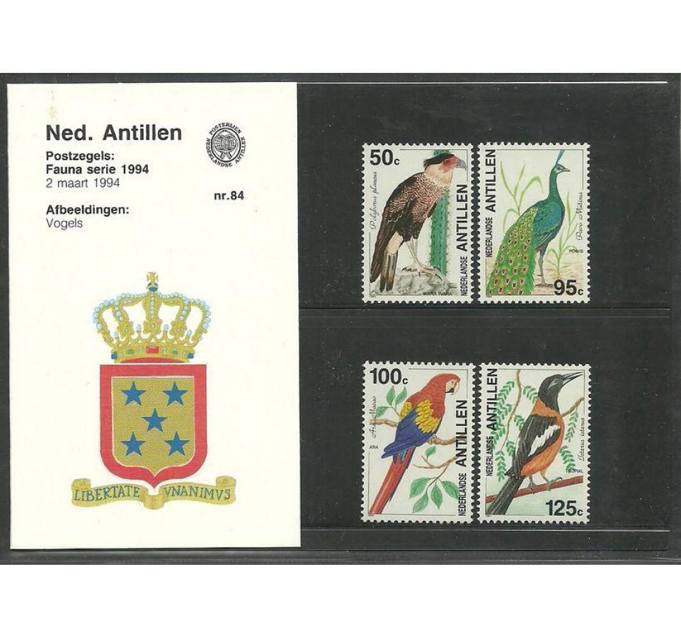 Antyle Holenderskie 1994 Mi 798-801 Czyste **
