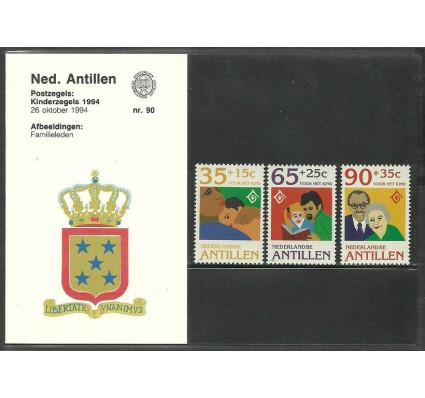 Znaczek Antyle Holenderskie 1994 Mi 818-820 Czyste **