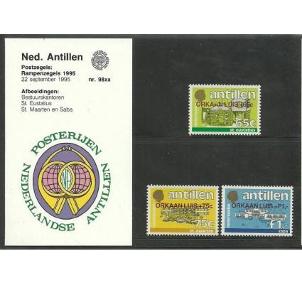 Znaczek Antyle Holenderskie 1995 Mi 843-845 Czyste **