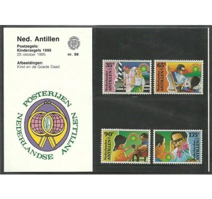 Znaczek Antyle Holenderskie 1995 Mi 851-854 Czyste **