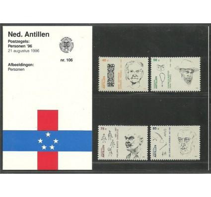 Znaczek Antyle Holenderskie 1996 Mi 870-873 Czyste **