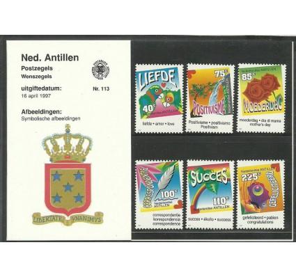 Znaczek Antyle Holenderskie 1997 Mi 902-907 Czyste **