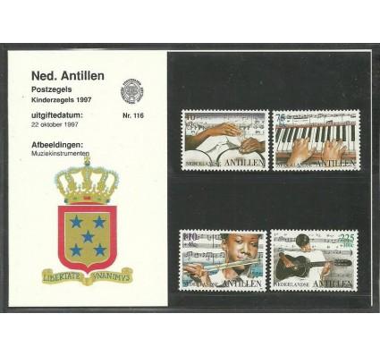 Znaczek Antyle Holenderskie 1997 Mi 933-936 Czyste **