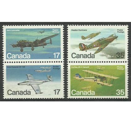 Znaczek Kanada 1980 Mi 784-787 Czyste **