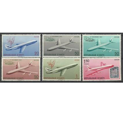 Znaczek Haiti 1960 Mi 648-653 Z podlepką *