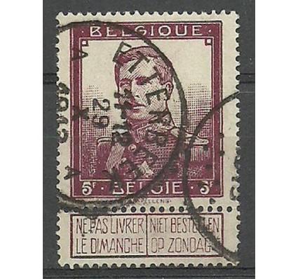 Znaczek Belgia 1912 Mi 99 Stemplowane