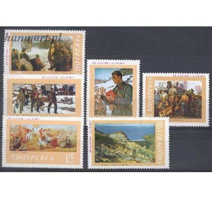 Znaczek Albania 1969 Mi 1339-1344 Czyste **