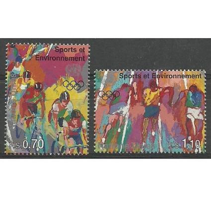 Znaczek Narody Zjednoczone Genewa 1996 Mi 297-298 Czyste **
