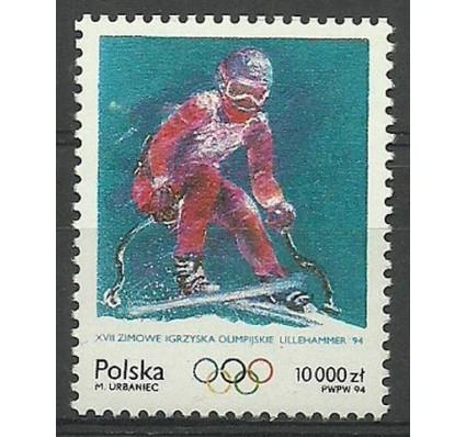 Znaczek Polska 1994 Mi 3480 Fi 3332 Czyste **