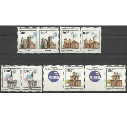 Znaczek Polska 1990 Mi zf 3302-3305 Fi zf 3154-3157 Czyste **