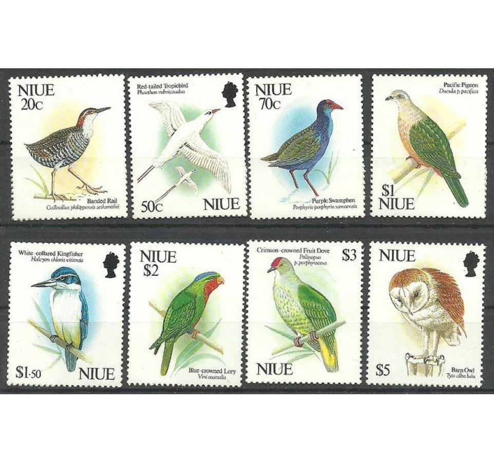 Niue 1992 Mi 782-789 Czyste **