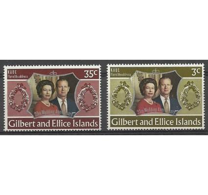 Znaczek Gilbert Ellice Islands 1972 Mi 201-202 Czyste **