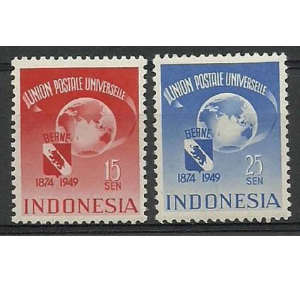 Znaczek Indonezja 1949 Mi 22-23 Czyste **