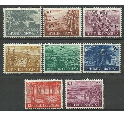 Znaczek Indonezja 1960 Mi 269-276 Czyste **