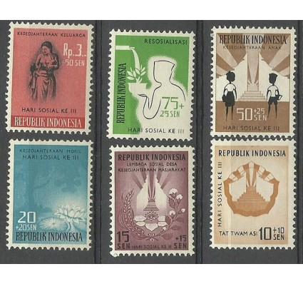 Znaczek Indonezja 1960 Mi 281-286 Czyste **