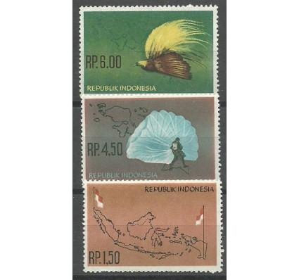 Znaczek Indonezja 1963 Mi 400-402 Czyste **