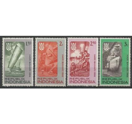 Znaczek Indonezja 1966 Mi 544-547 Czyste **