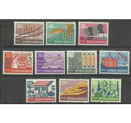 Znaczek Indonezja 1969 Mi 644-653 Czyste **