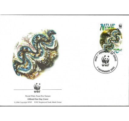 Znaczek Niue 2002 Mi 974I FDC