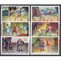 Albania 1971 Mi 1521-1526 Czyste **