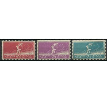 Znaczek Urugwaj 1924 Mi 285-287 Z podlepką *