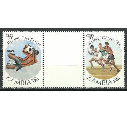 Znaczek Zambia 1984 Mi 314-315 Czyste **