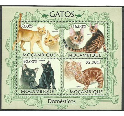 Znaczek Mozambik 2013 Mi ark 6294-6297 Czyste **