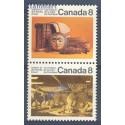 Kanada 1974 Mi 547-548 Czyste **