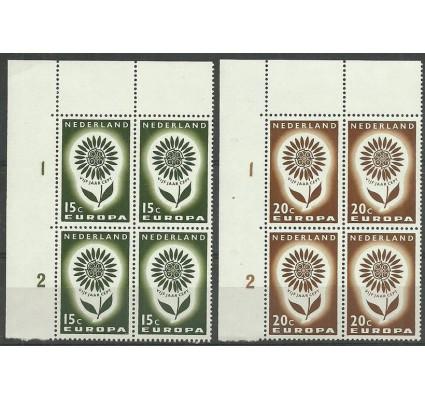 Znaczek Holandia 1964 Mi 827-828 Czyste **